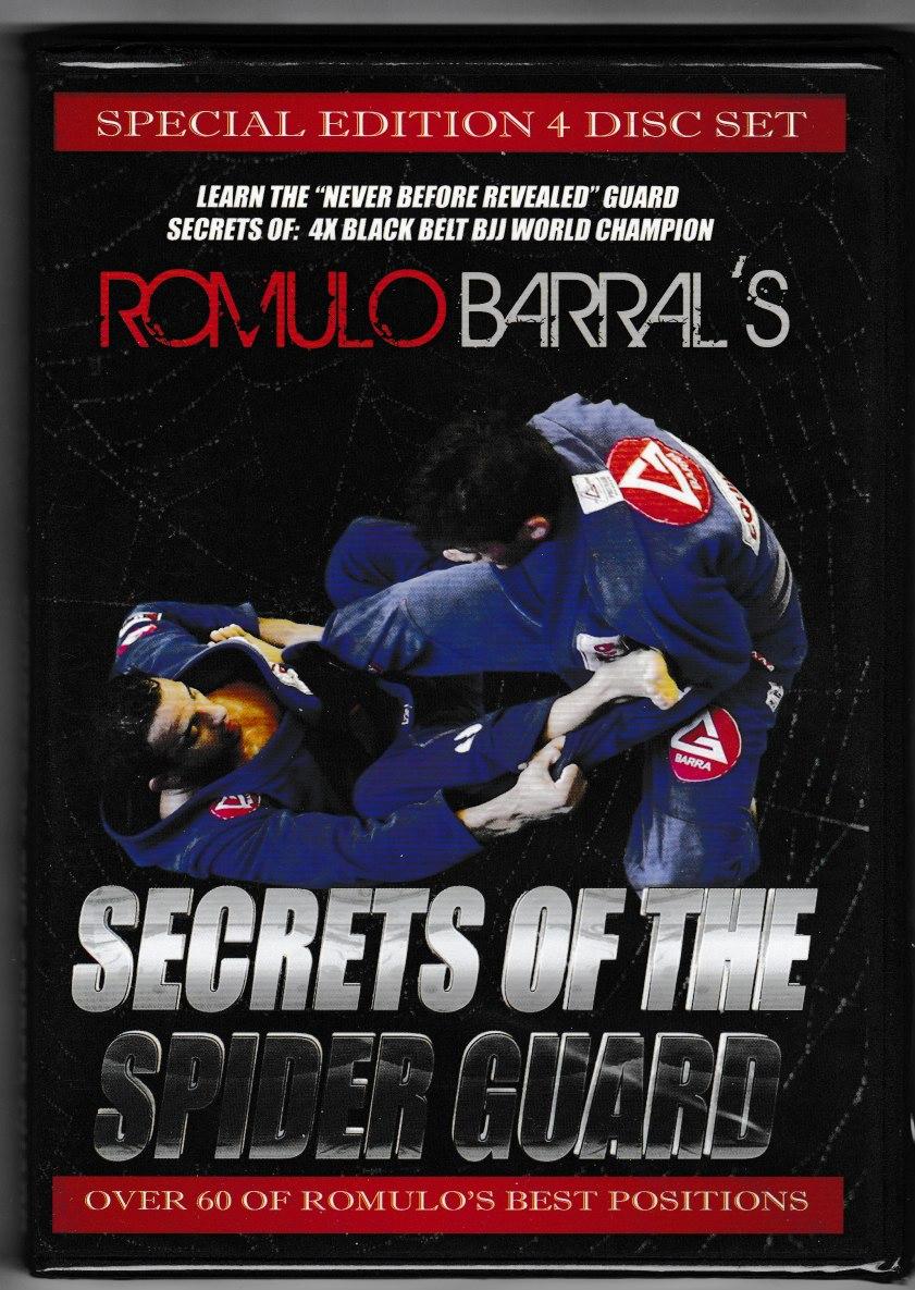 ホムロ・バハウ スパイダーガードシークレット|ブラジリアン柔術教則DVD