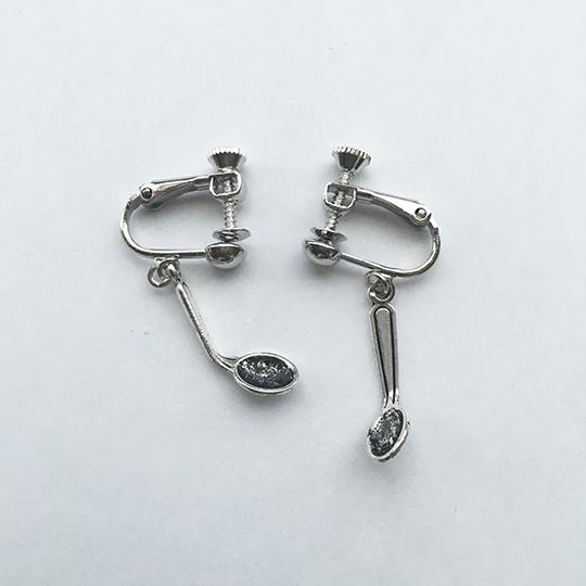 サイキック・スプーン(イヤリング) Psychic Spoon  (Earrings type)