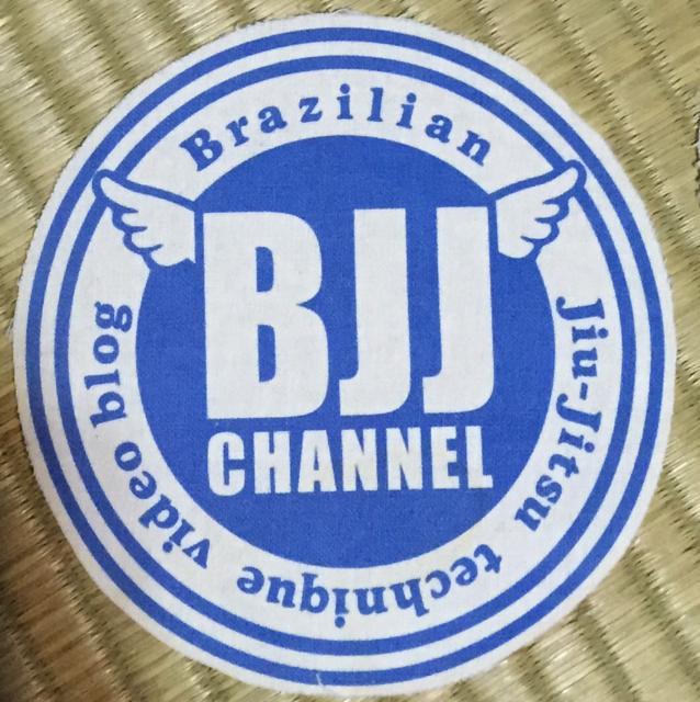 BJJチャンネルパッチ ブルー