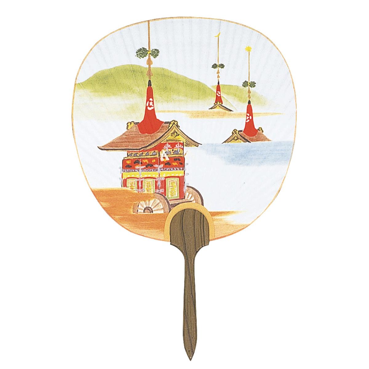 並型都うちわ No.2935 祇園祭