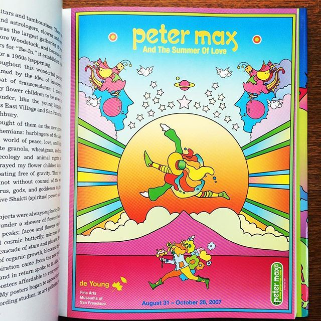 画集「The Universe of Peter Max」 - 画像3