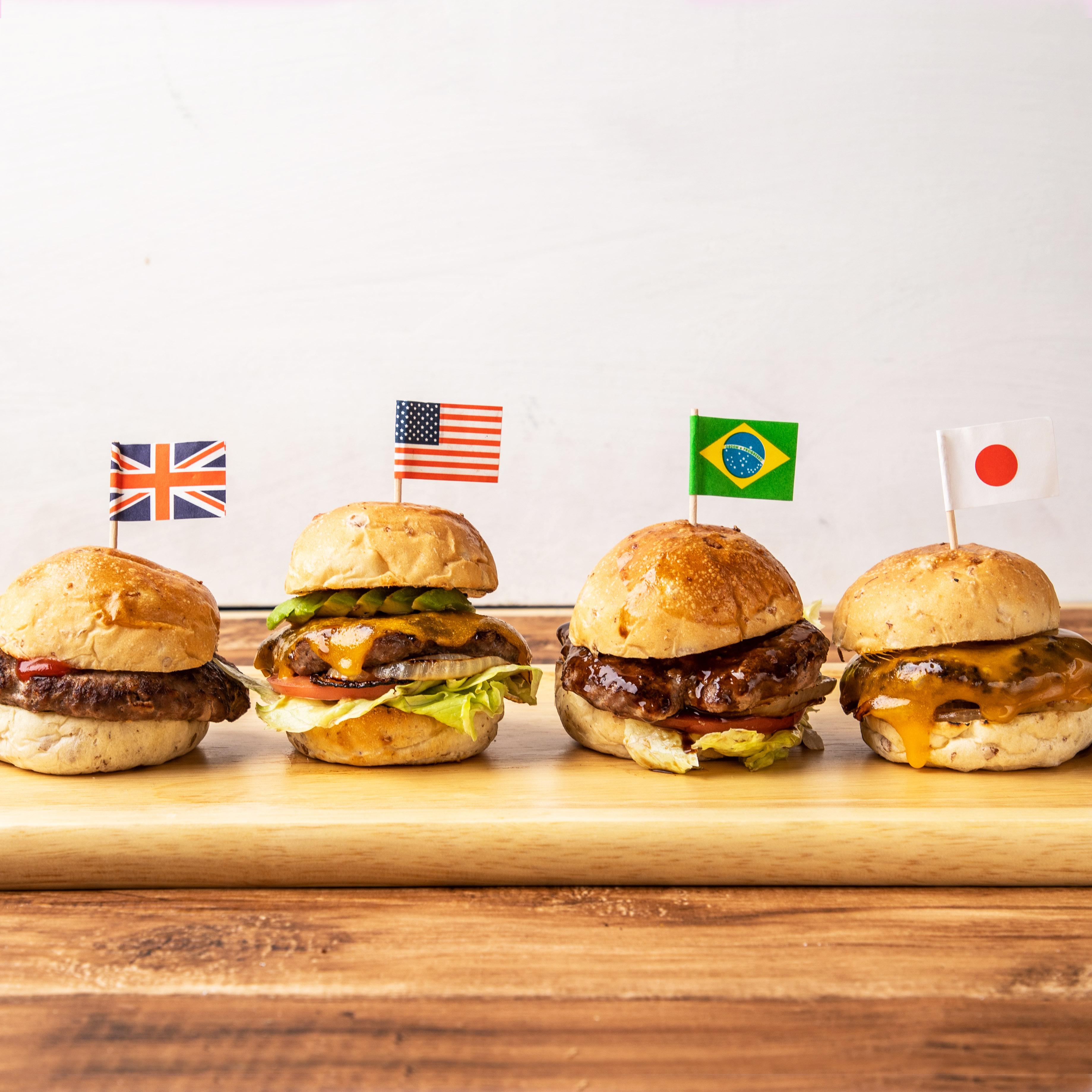 (ミールキットのみ)おうちで手作りハンバーガー屋さんキット