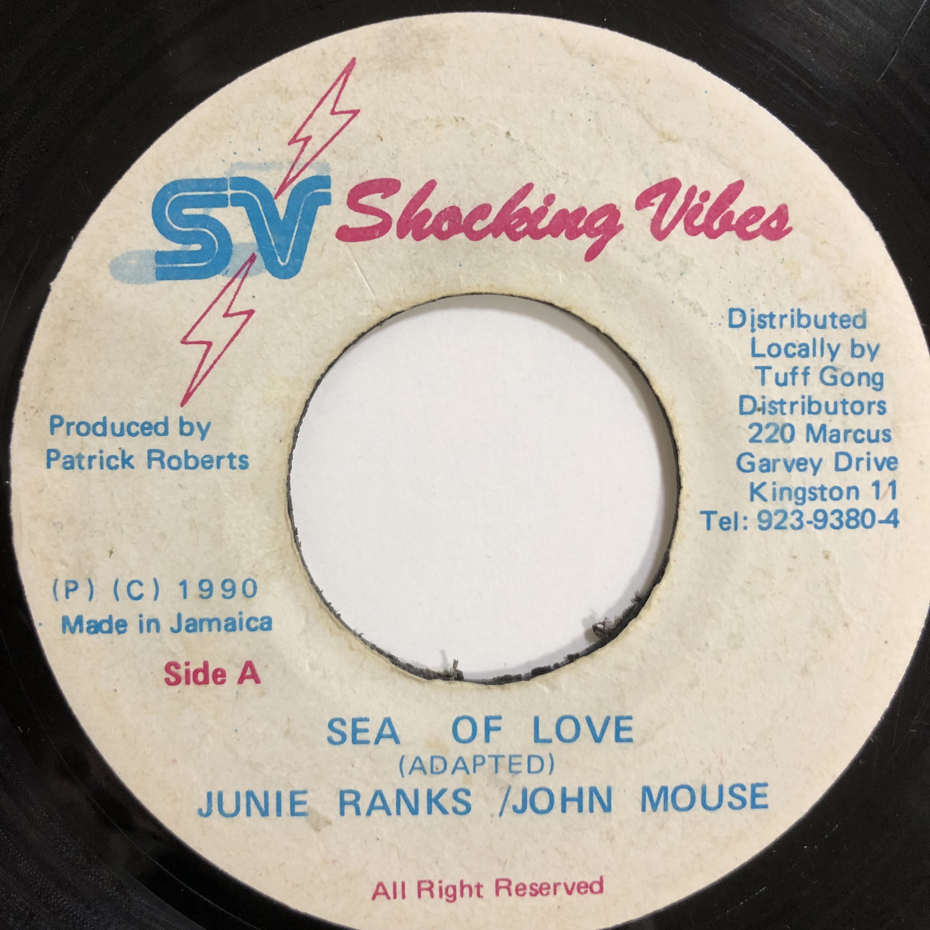 Junie Ranks & John Mouse - Sea Of Love 【7-20130】