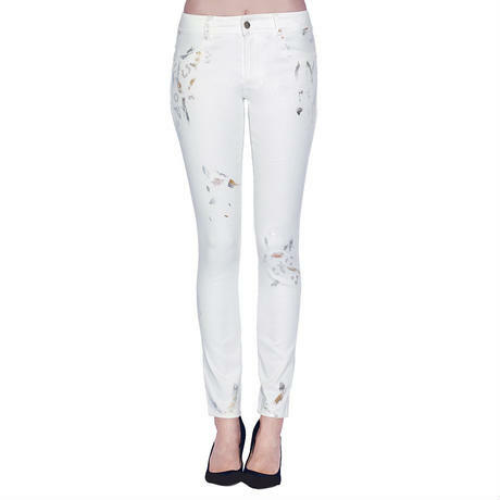 WHITE MAXIMUM JOY CHINO