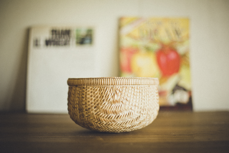ボール型バスケット 小 丸籠 / Ball-Shaped Basket (S)
