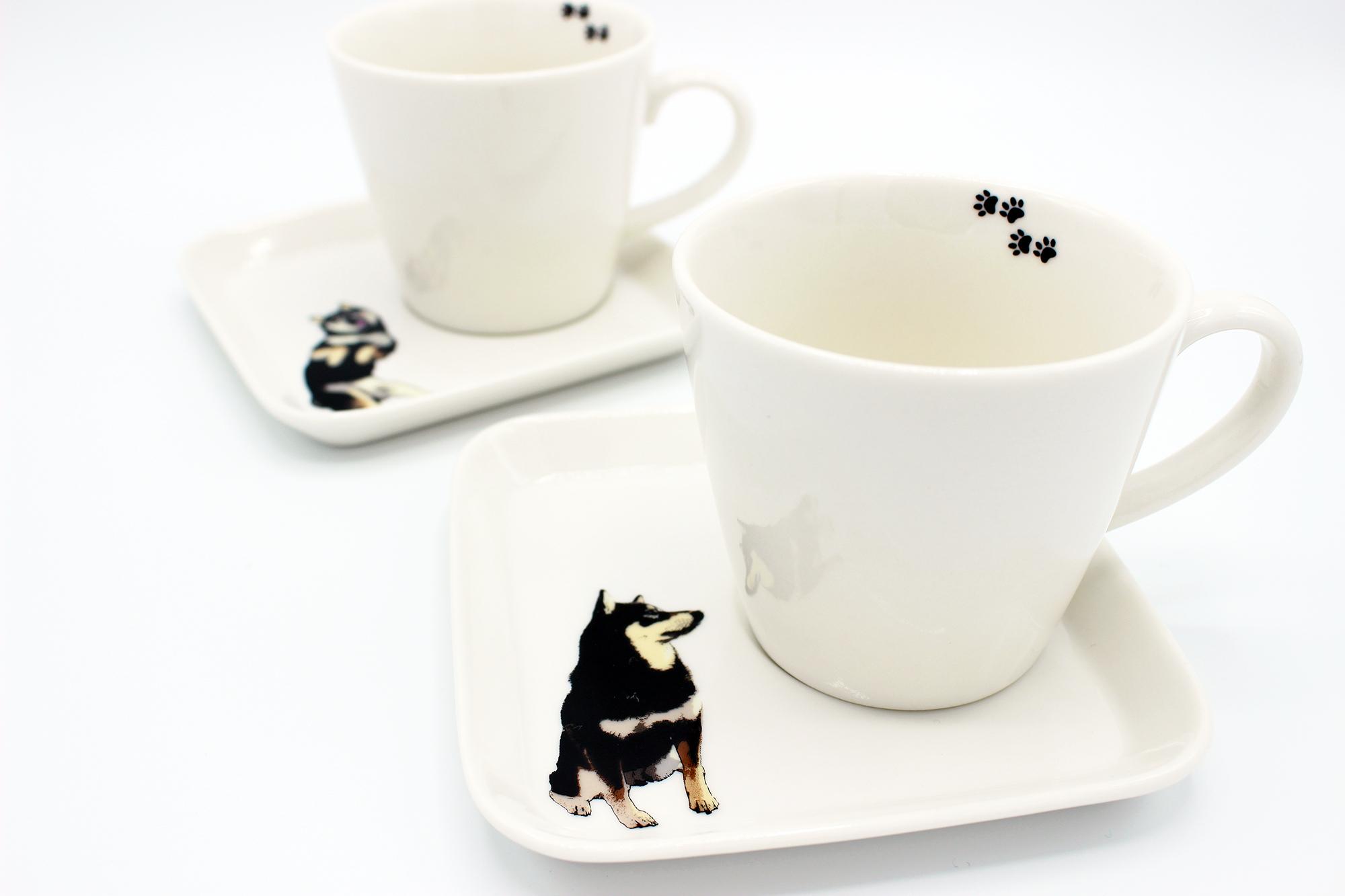 【アウトレット】SHIBA'S SPECIAL 黒柴カフェセット