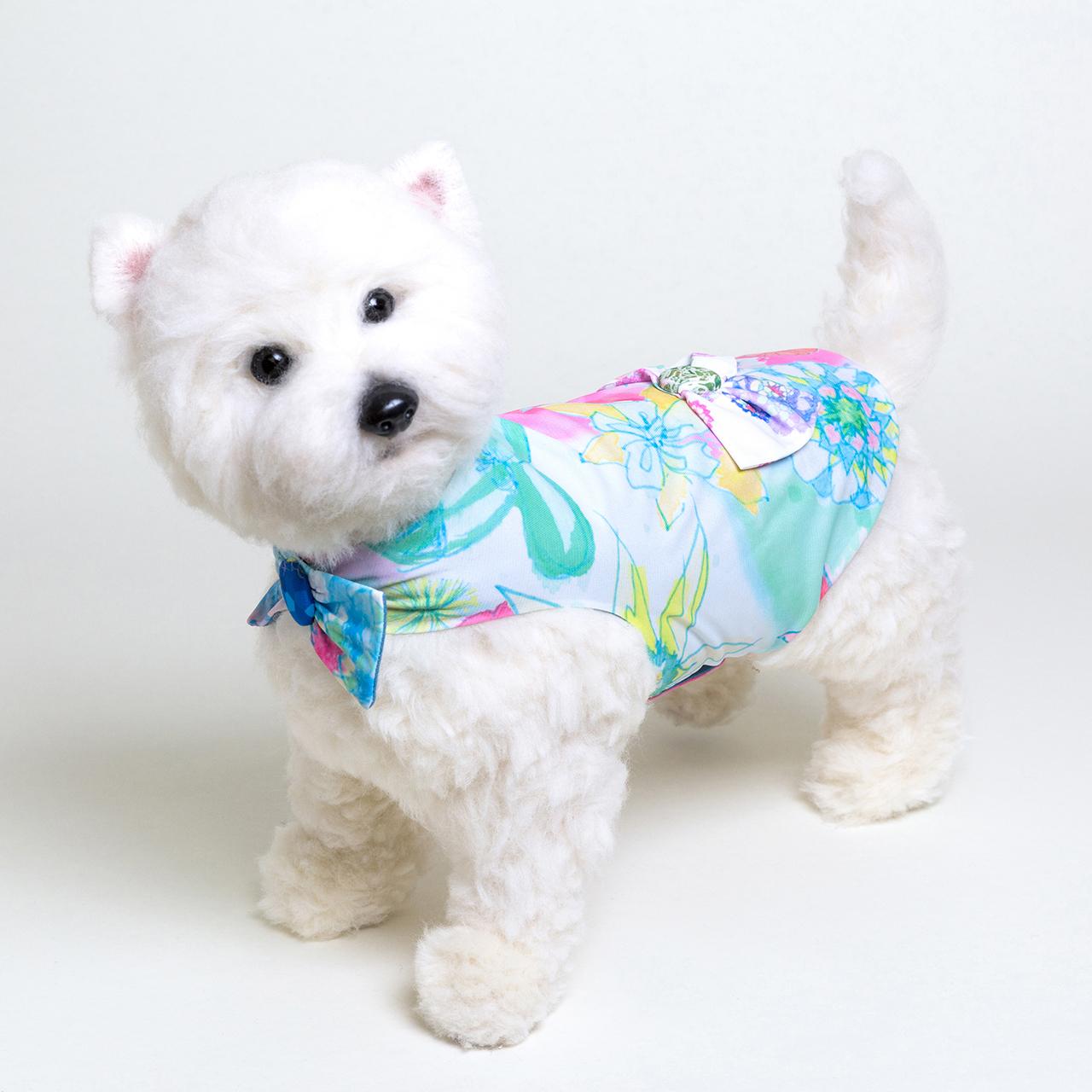 jibun-fuku DOG 【バック・リボンドレス】DOGBR201827