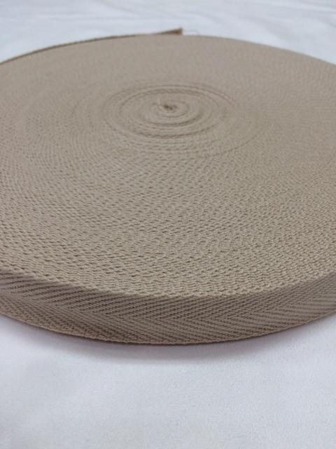アクリル 杉綾織(綾テープ) 1mm厚 25mm幅  全カラー黒以外 1巻 (50m)