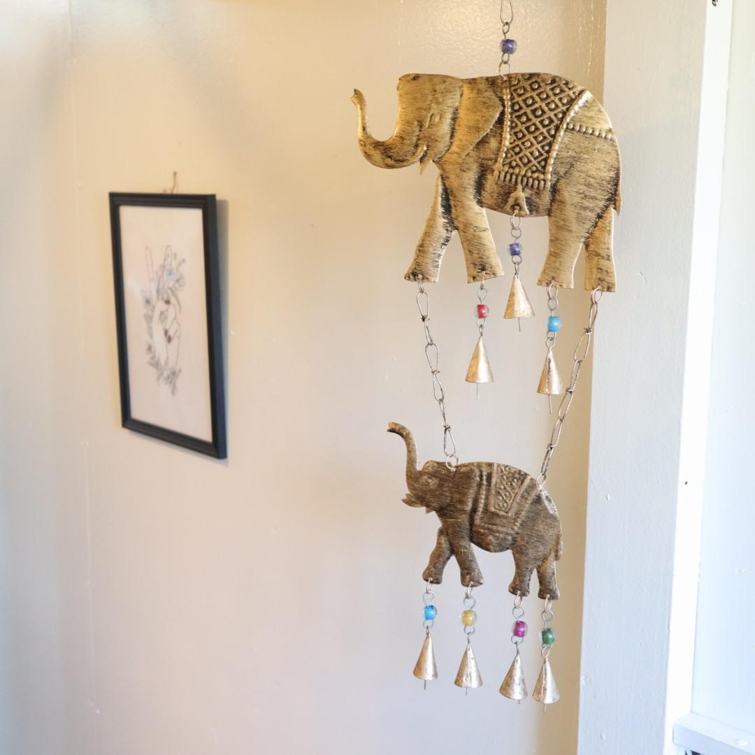 象のハンギングベル