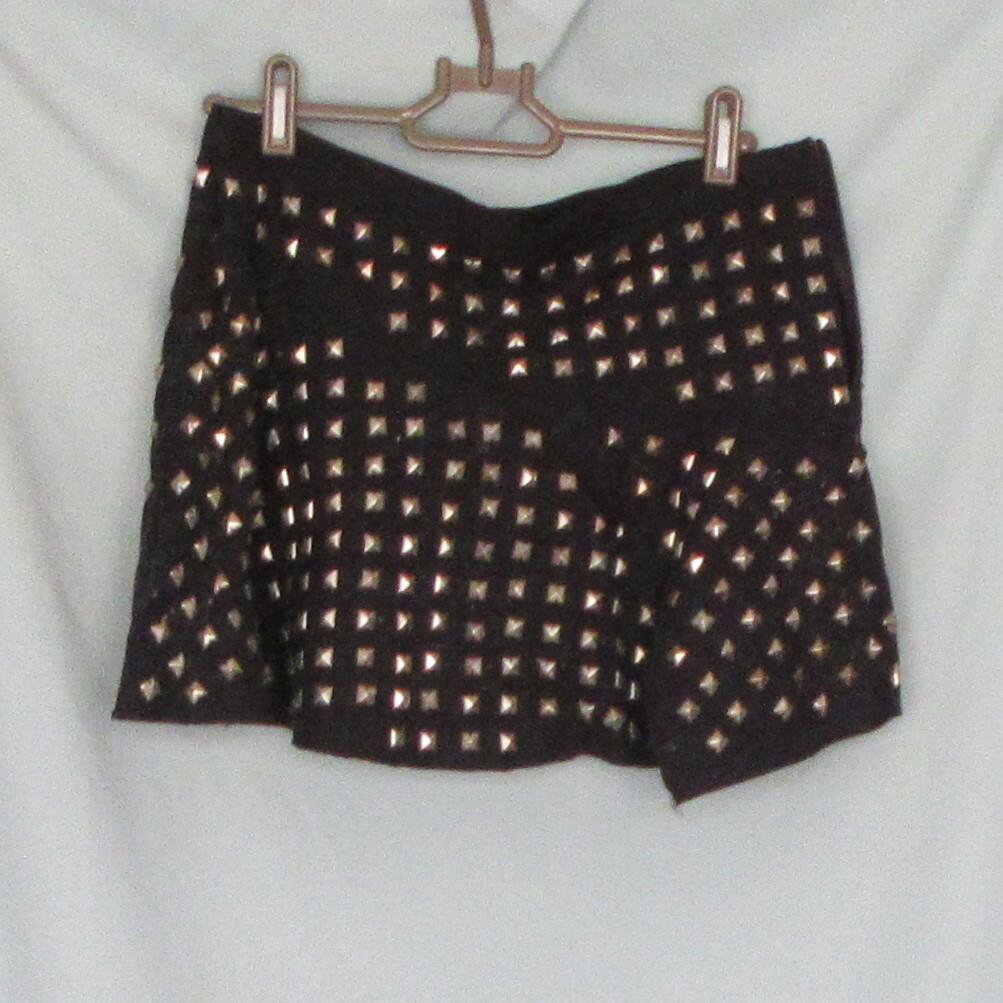 TRF メタルスカート ミニ 中古 Mサイズ