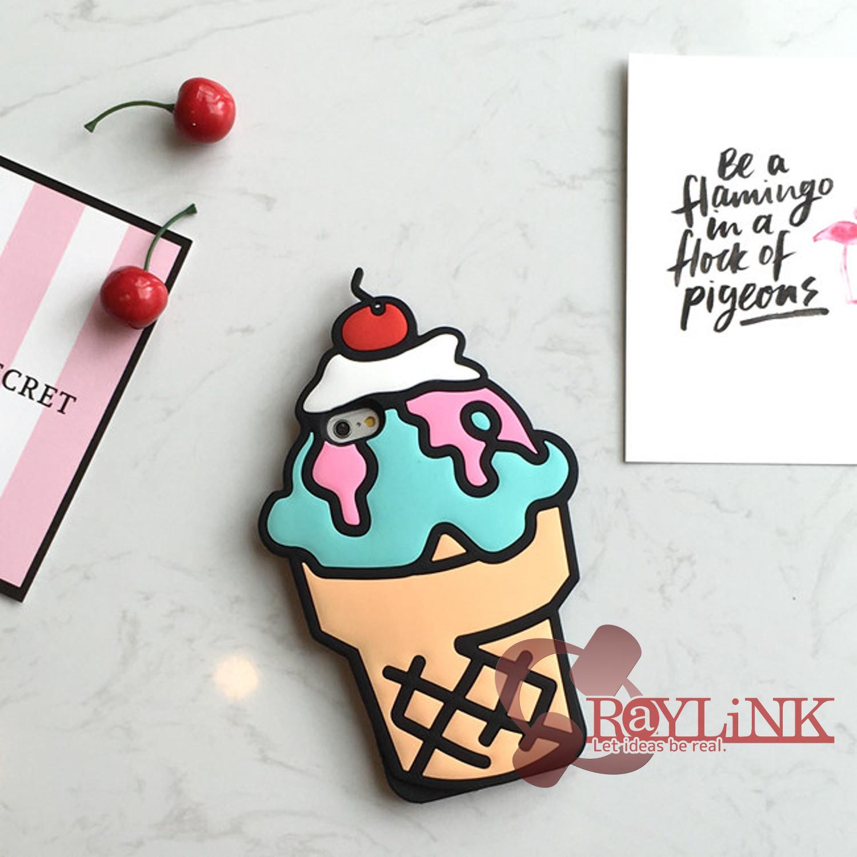 【スマホケース】アイスクリーム型iPhone7ケース Vol.3
