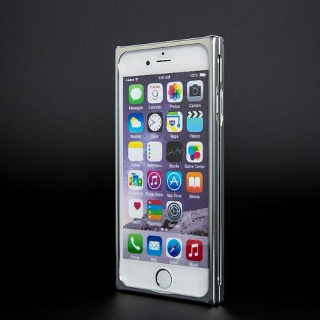 iPhone 6P/6s ジュラルミンケース シルバー