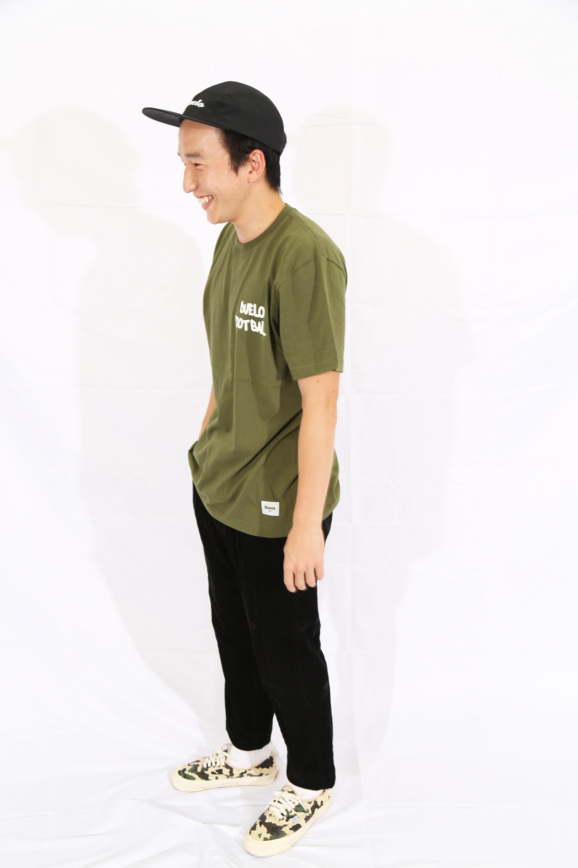 20020 OSAMU Friend Tシャツ  シティGRN