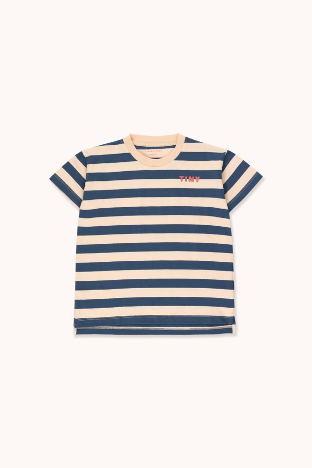"TINYCOTTONS タイニーコットンズ ""TINY"" STRIPES TEE  size:2Y(95-100)-12Y(140-155)"