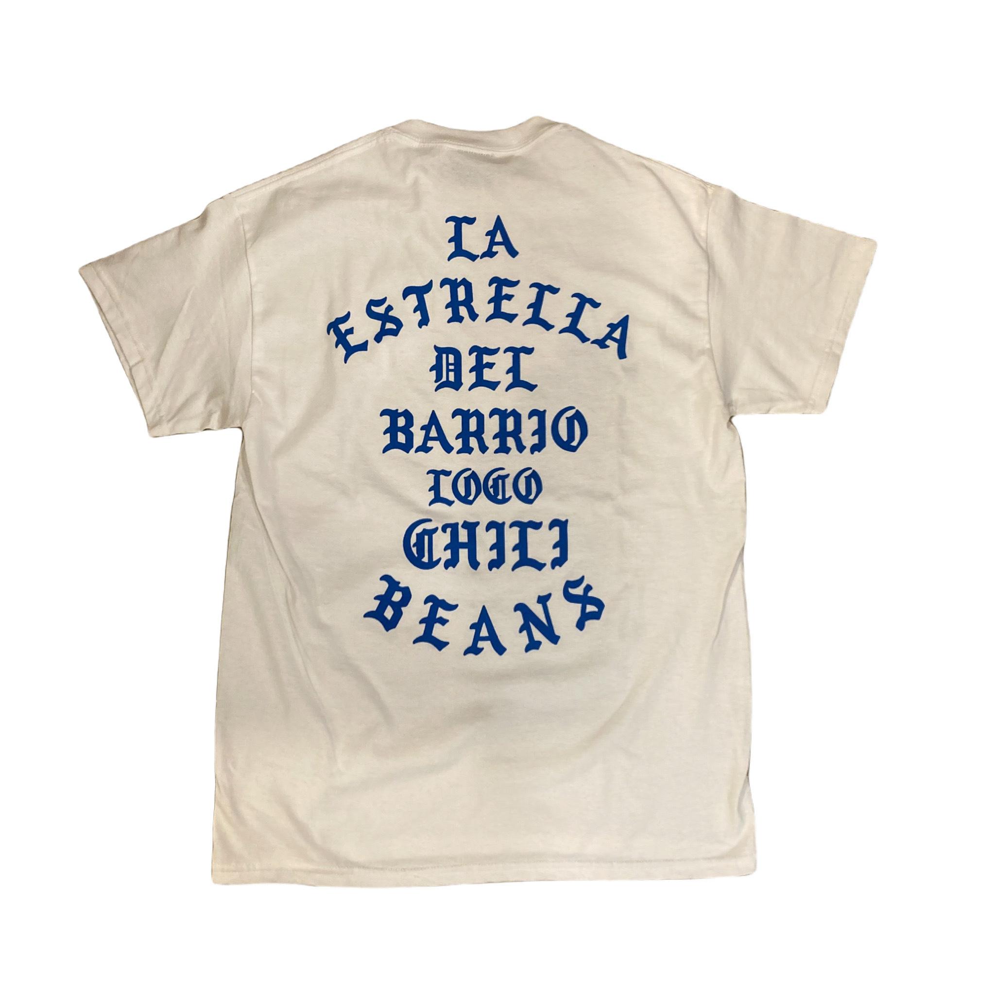 CHILI BEANS #La Estrella Del Barrio Tee Blue