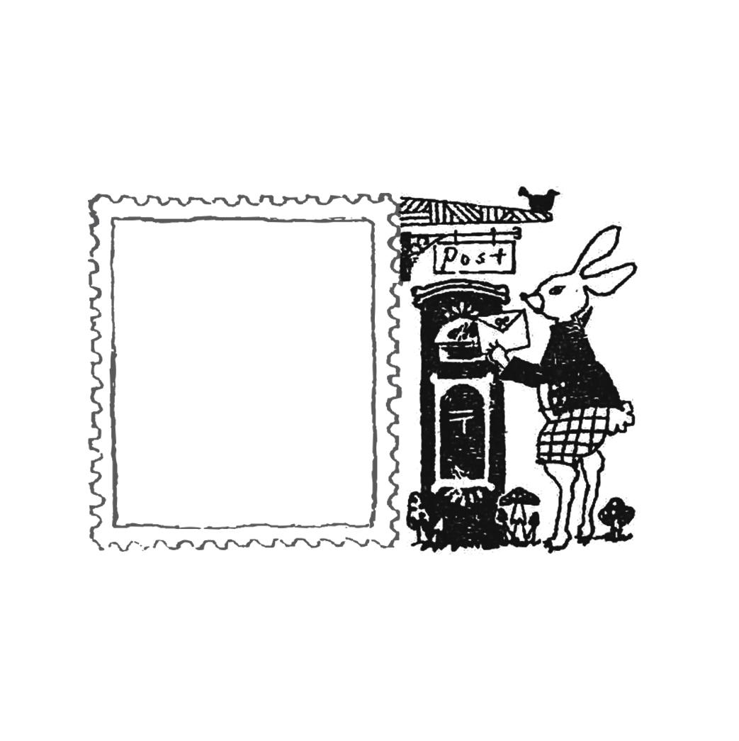 WonderLand-02 うさぎのエミルとお手紙