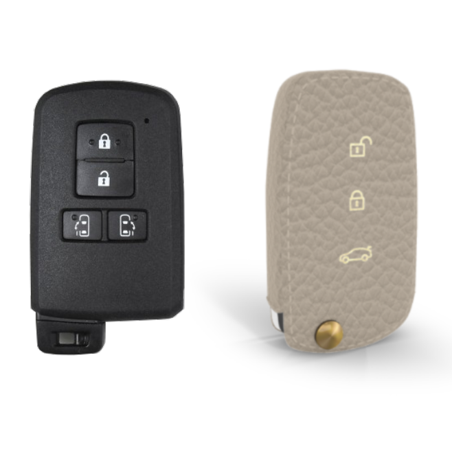 Toyota 専用 TypeB-3 Car Key Case Shrink Leather Case