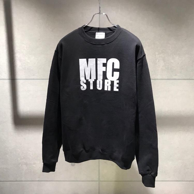 MFC STORE LOGO CREWNECK SWEATSHIRT / BLACK