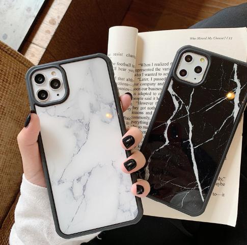 iPhone11【お取り寄せ商品、送料無料】大理石風 ハード iPhoneケース