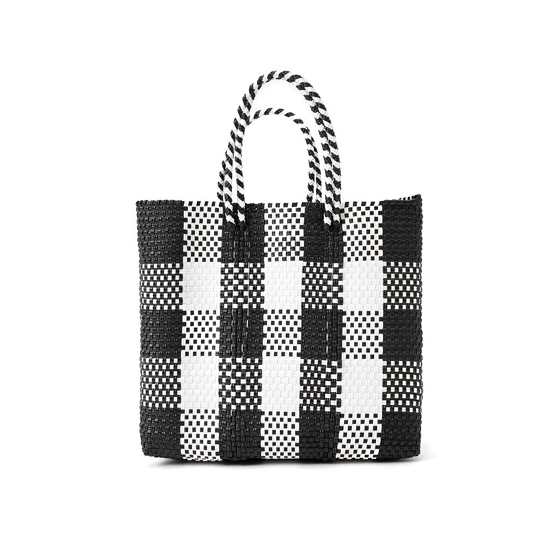 MERCADO BAG CHECK - White x Black(S)
