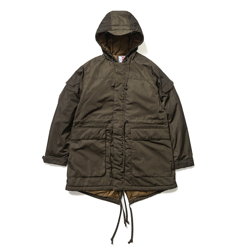 【SON OF THE CHEESE】MODS COAT(OLIVE)