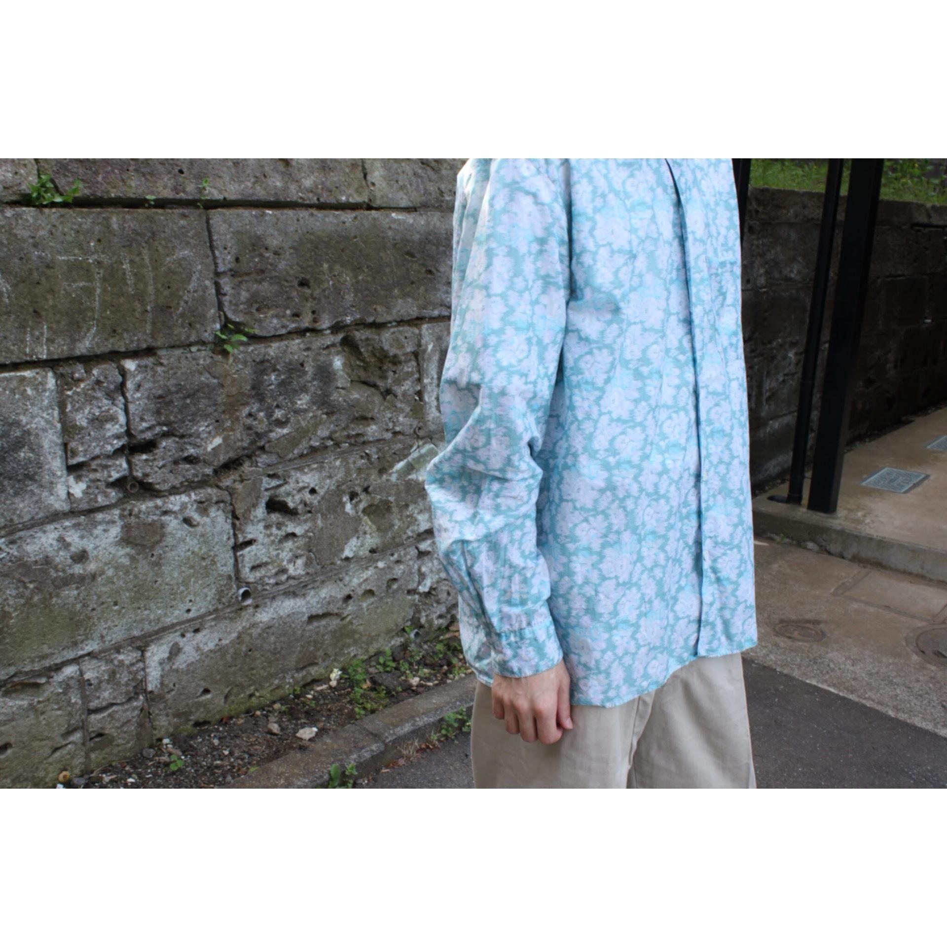 agnes b. flower print shirt
