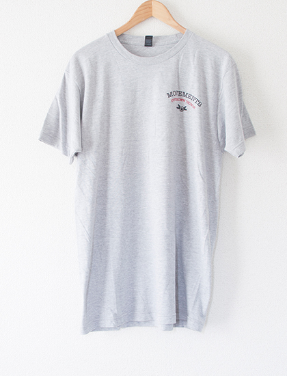 【MOVEMENTS】Give Me Something To Believe T-Shirts (Gray)