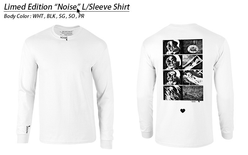 "Limited Edition ""NOISE"" (Long Sleeve T-Shirt)"
