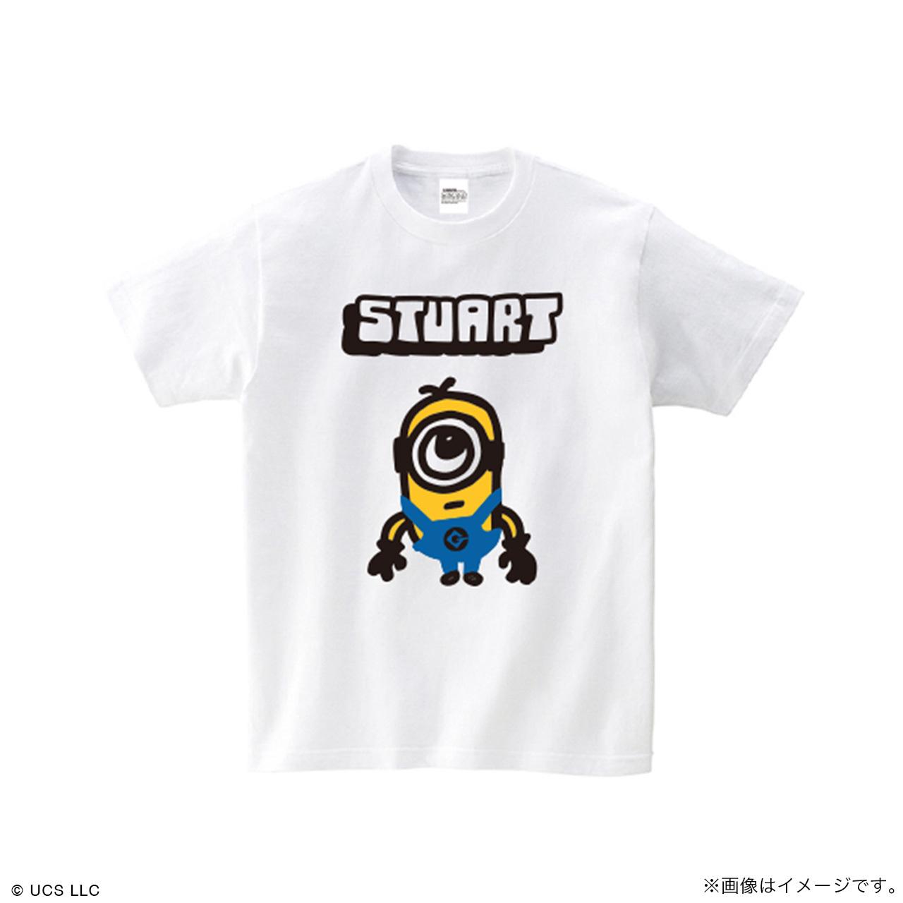 キッズTシャツ/ミニオン(スチュアート ホワイト )【MINIONS POP UP STORE 限定】