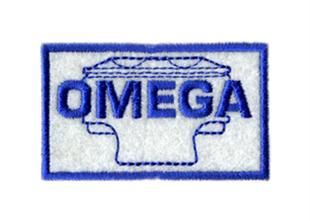 オメガ・ロゴ・ワッペン・Mサイズ