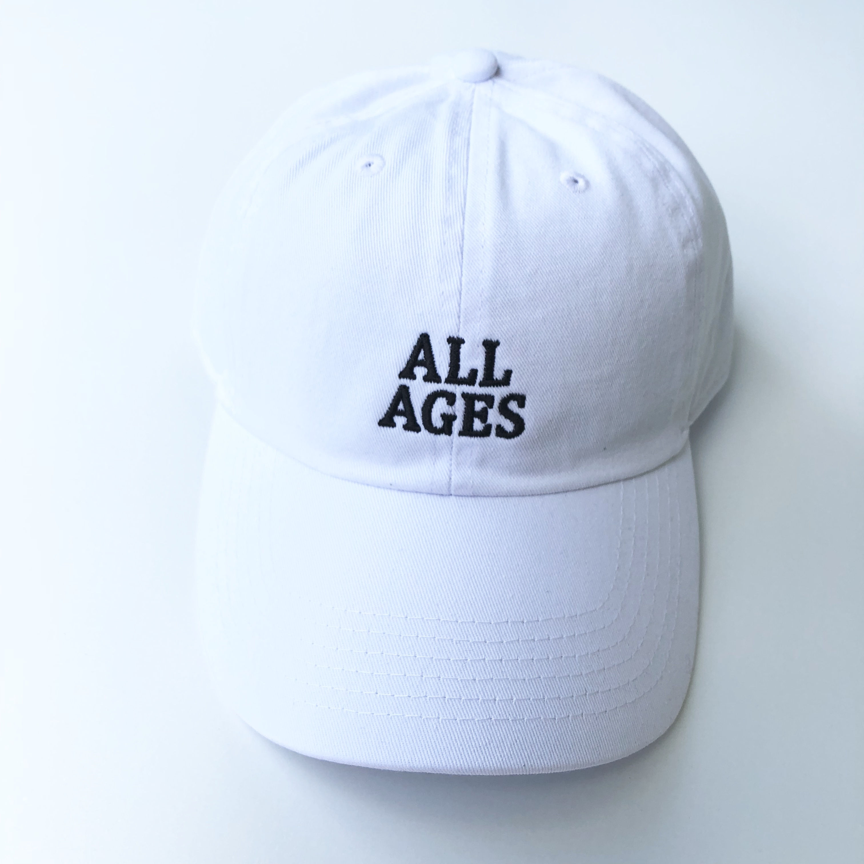 All ages cap WHITE