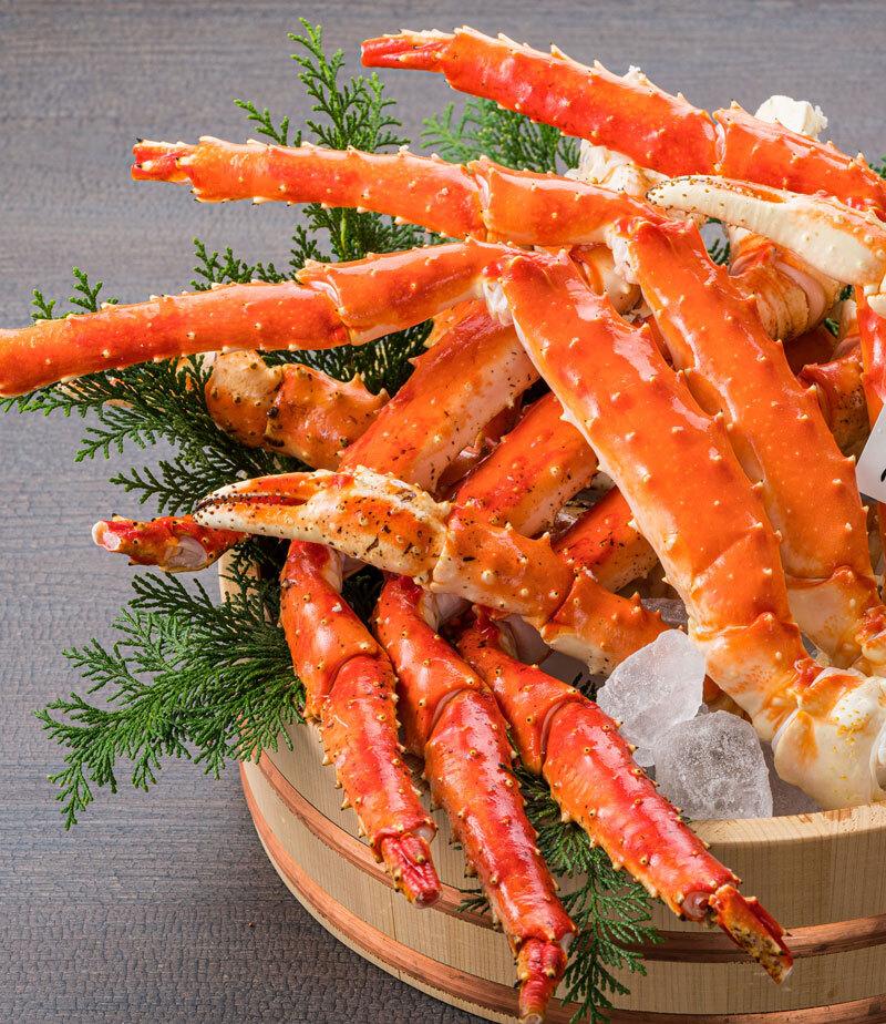 送料無料!ロシア産タラバ蟹5Lサイズ 1kg肩×2肩 2kg 80名様限定の大特価