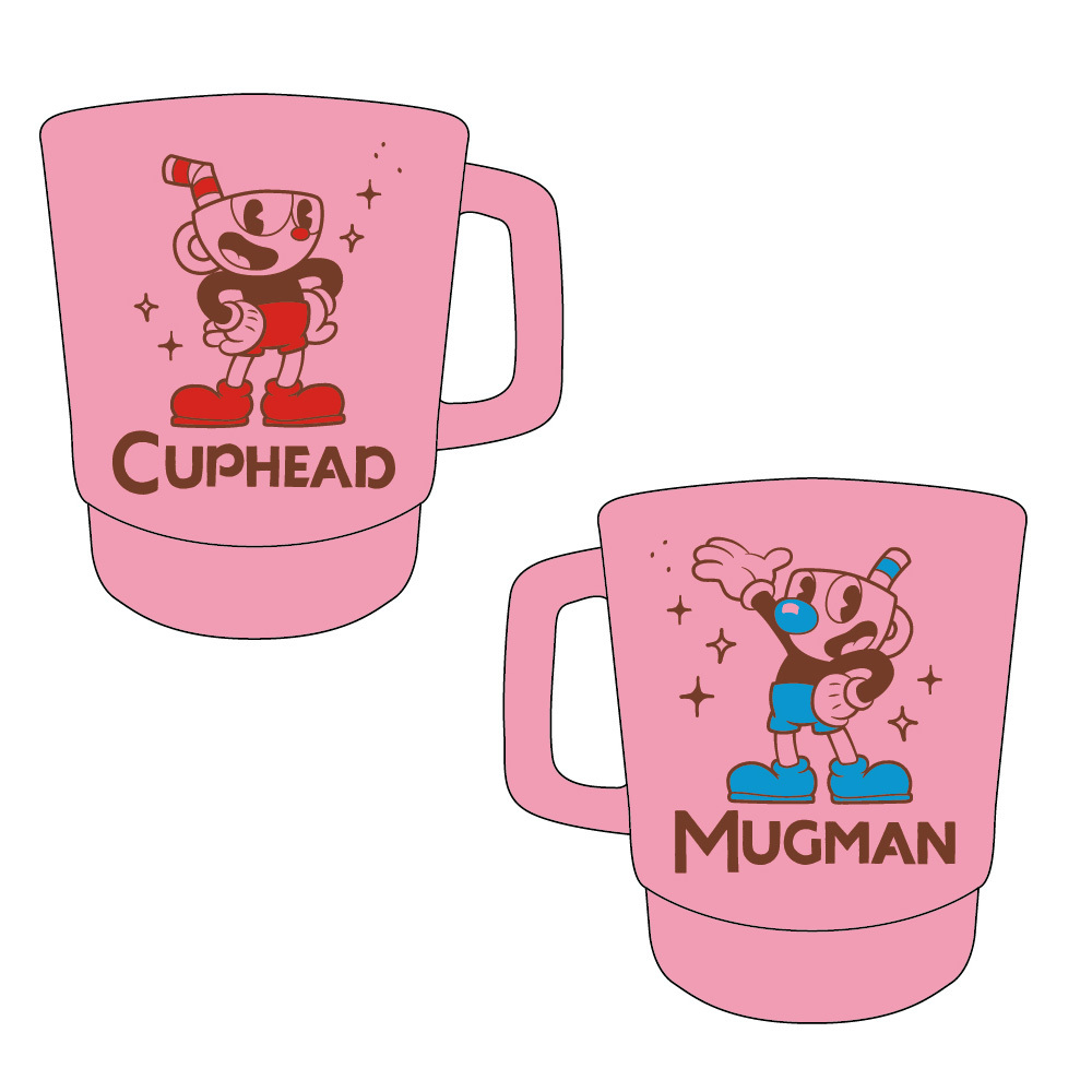 CUPHEAD ( カップヘッド ) スタッキングマグカップ B / エンスカイ