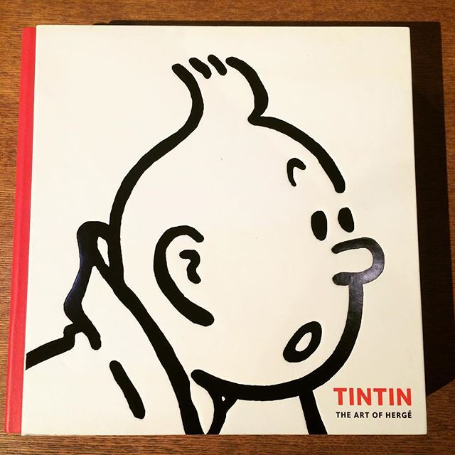 作品集「Tintin: The Art of Hergé」 - 画像1