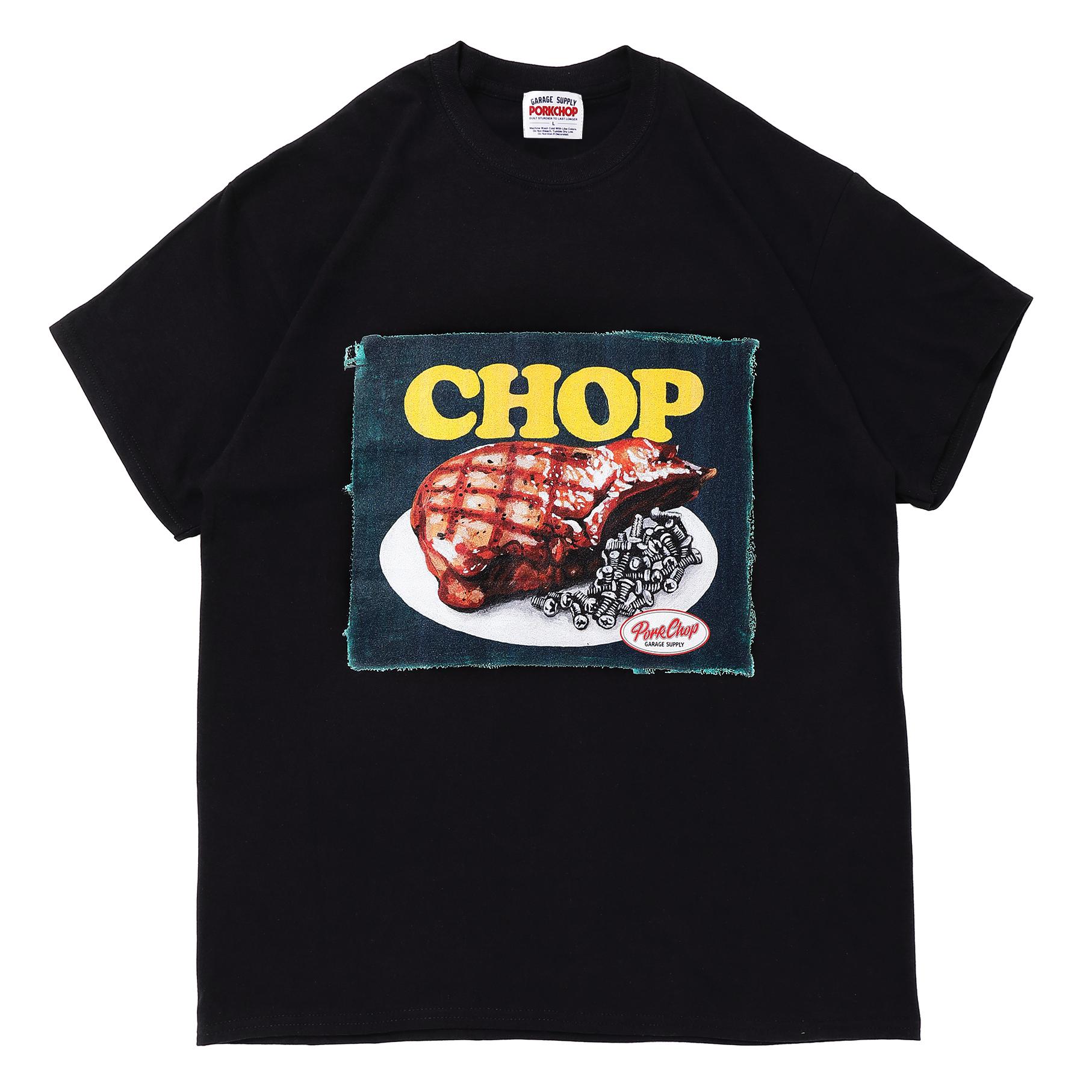 CHOP TEE/BLACK