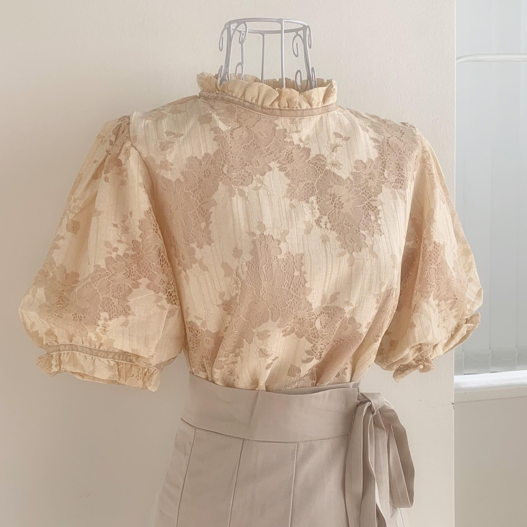 ephemeral rase blouse