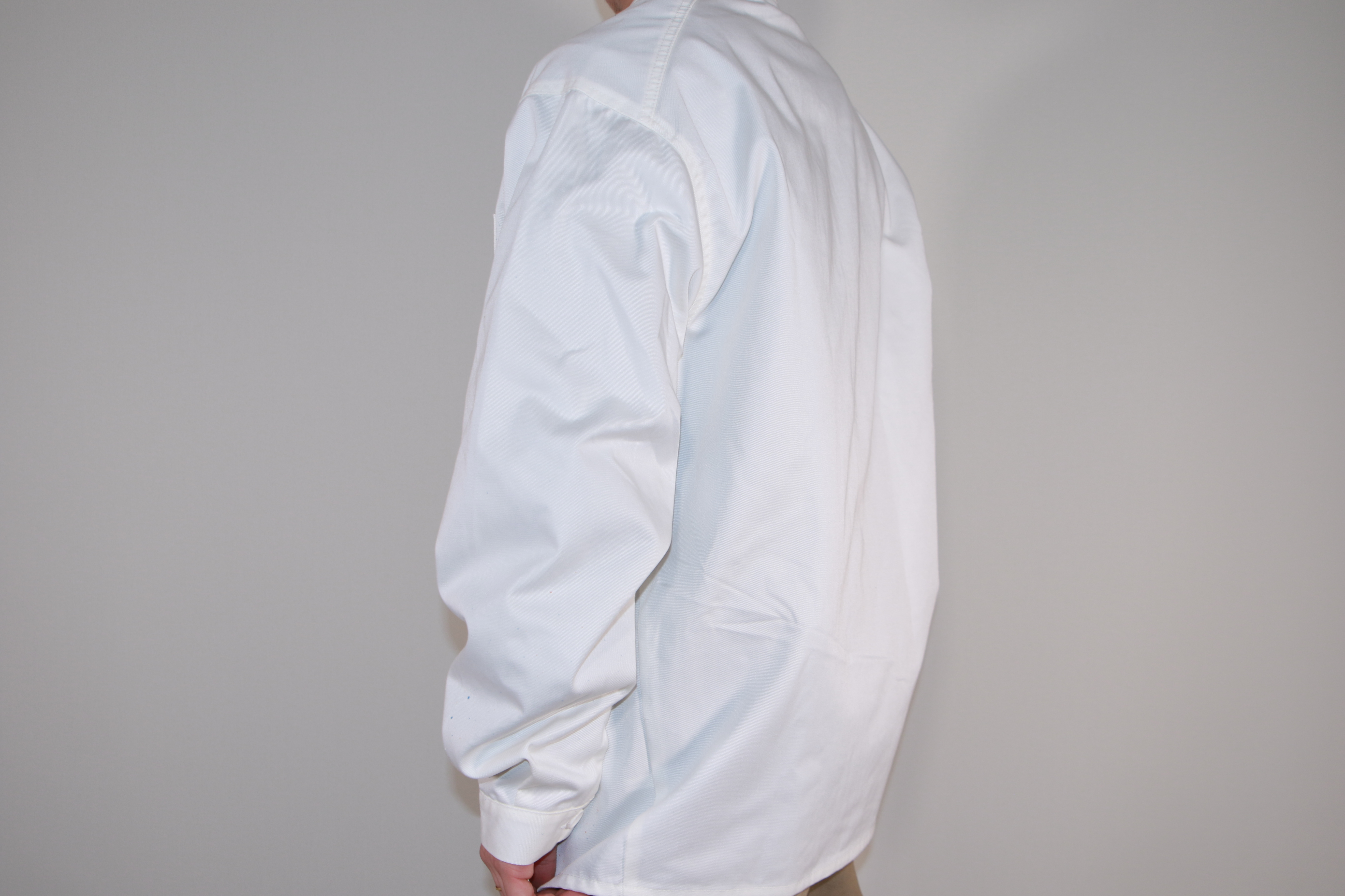 KB Paint French Work Jacket [OFF WHITE]