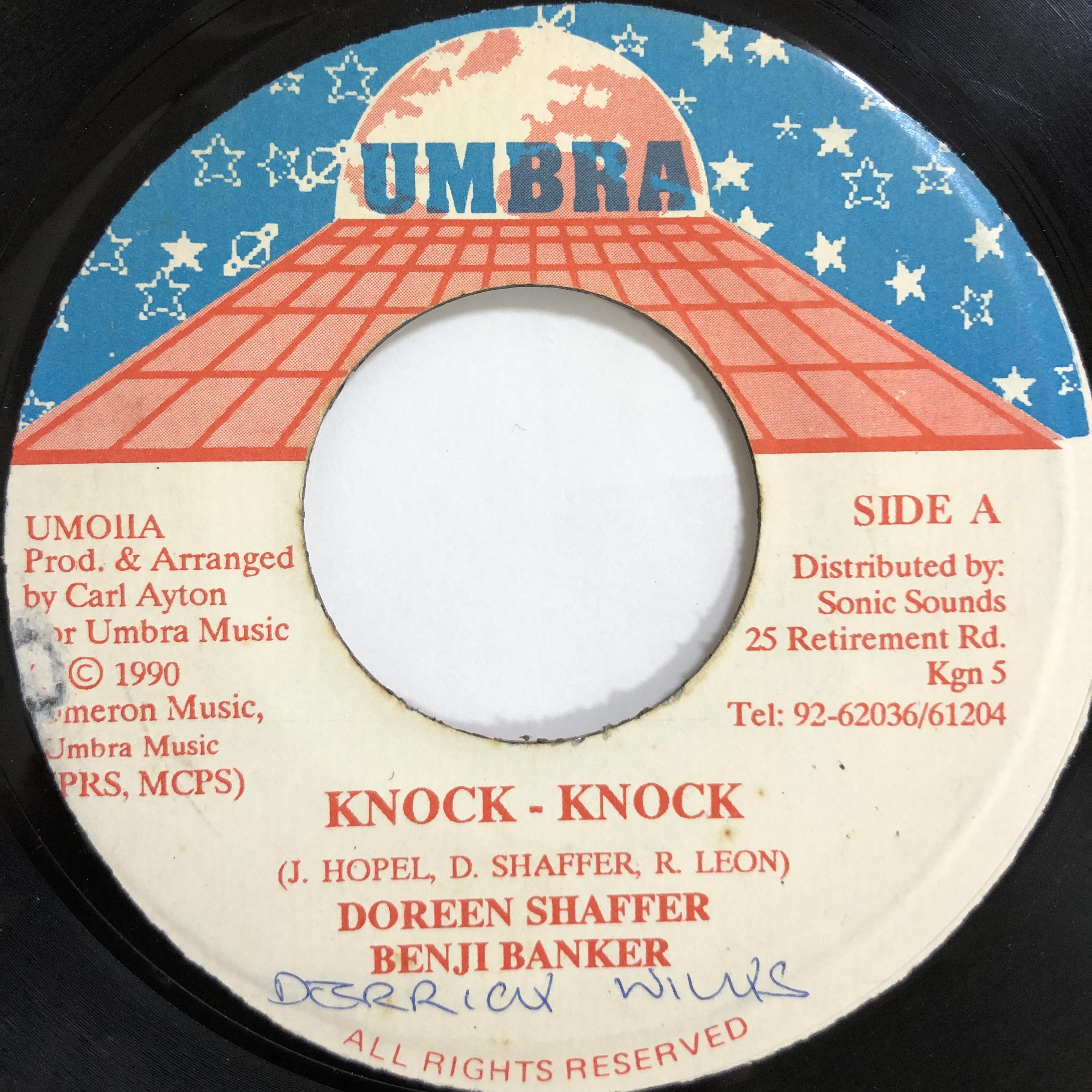 Doreen Shaffer, Benji Banker - Knock Knock【7-20048】