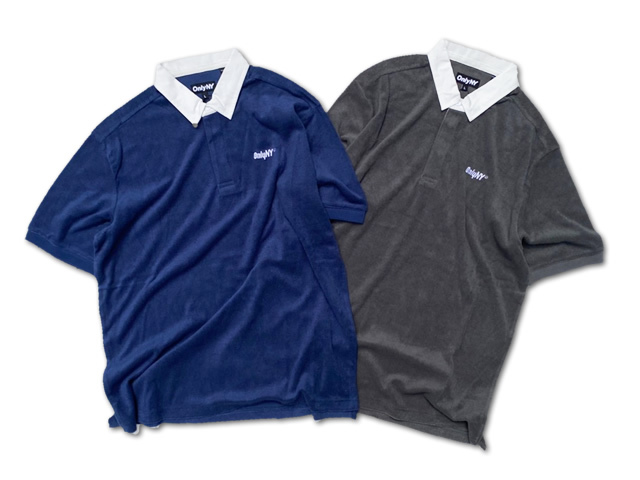 ONLY NY|Court Terry Cloth Polo Shirt