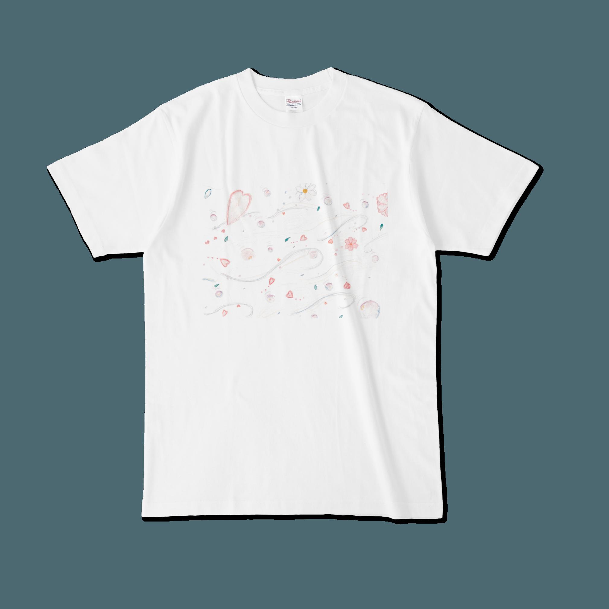 【税込・送料無料】仲瀬みあら(APOKALIPPPS)デザインTシャツ「そよ風」