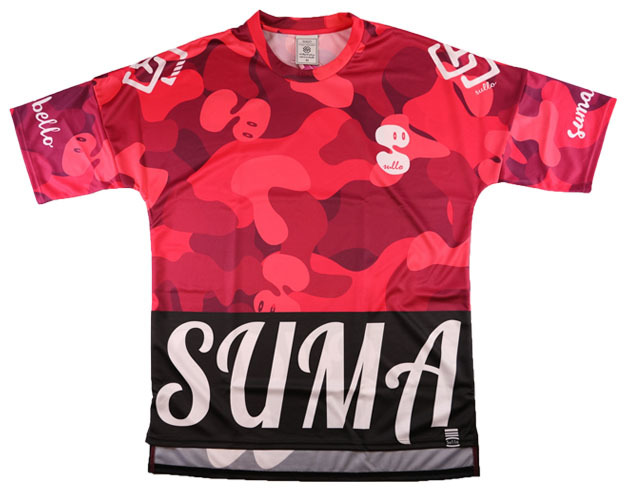 DROP SHOULDER CAMO(RED)