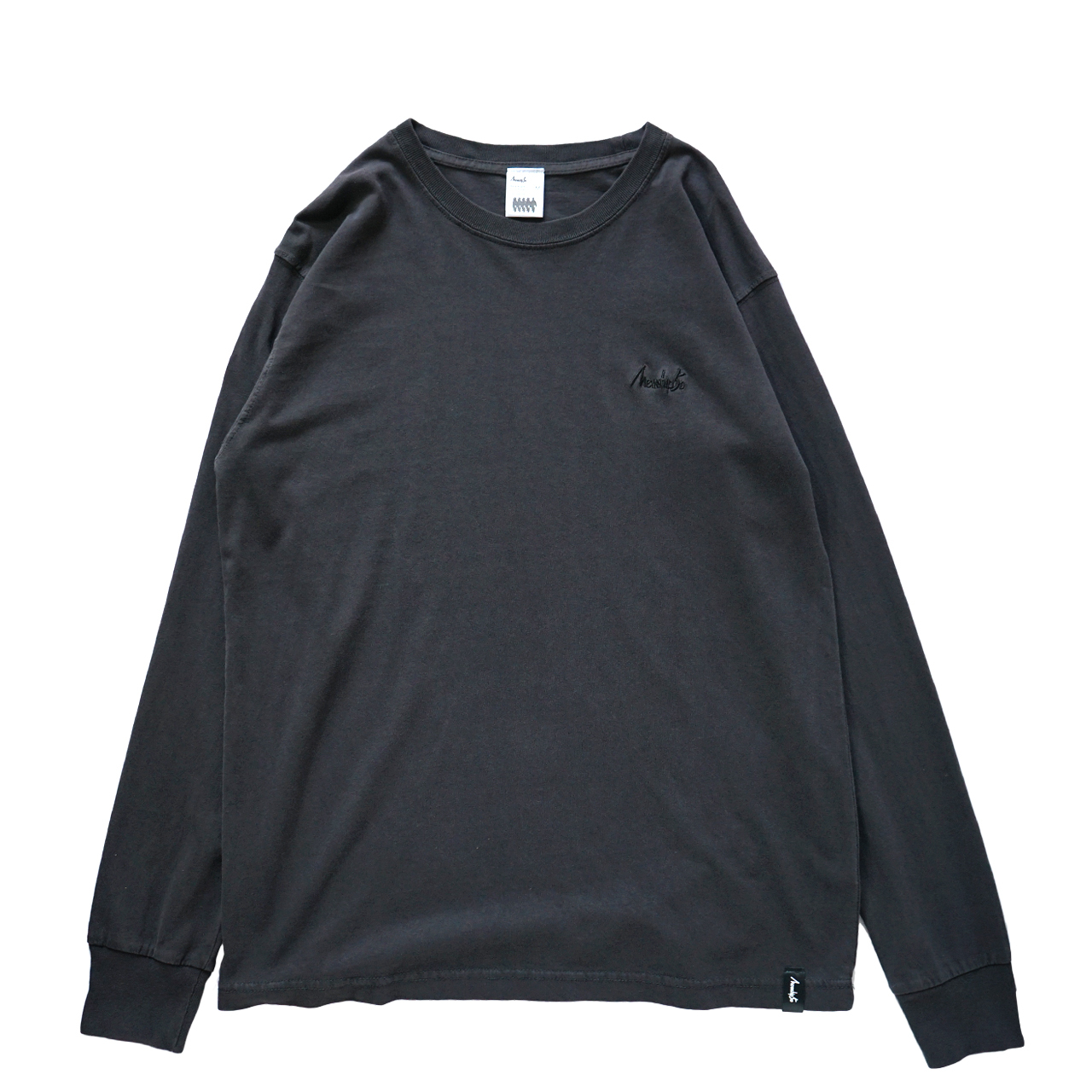 BASIC LOGO 2019 L/S CT <T.Black×Black> - 画像1