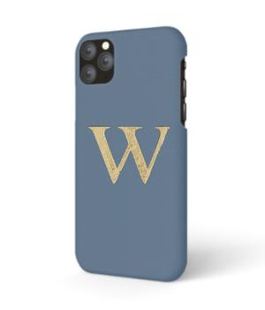 iPhone Premium Smooth Leather Case (Capri Blue)