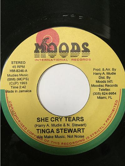 Tinga Stewart(ティンガスチュワート)- She Cry Tears【7'】