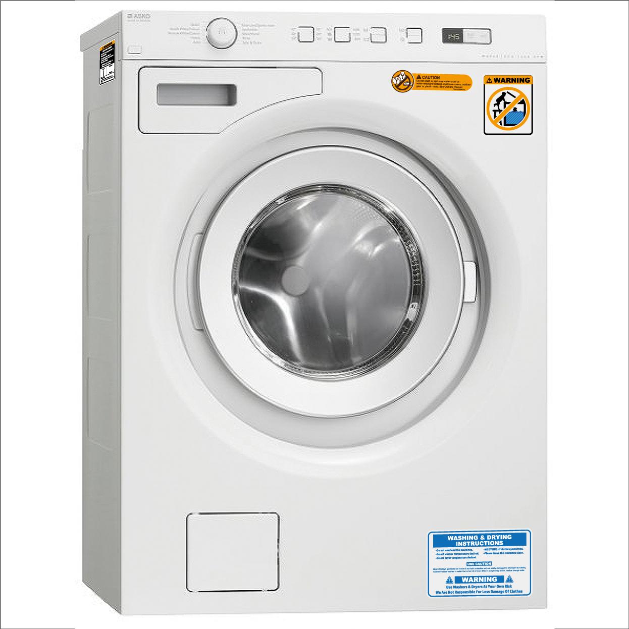 今なら送料無料!アメリカ製に変身!国産洗濯機用ステッカー!