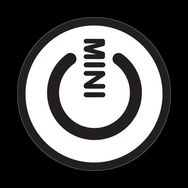 ゴーバッジ(ドーム)(CD0980 - MINI POWER WHITE) - 画像1