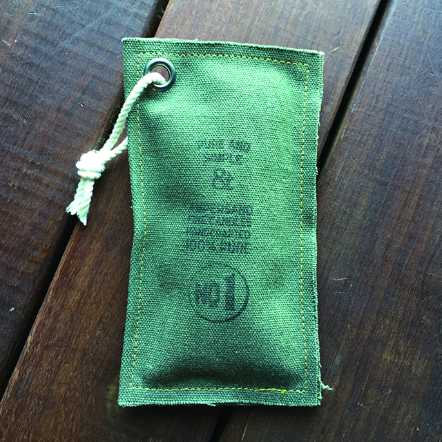 Canvas Fragrance Pouch -LEMONGRASS AND SAGE- キャンドル Candles - 画像2