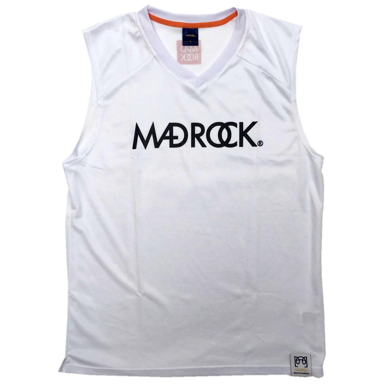 マッドロック / ベーシックスリーブレスシャツ / ドライタイプ /ホワイト