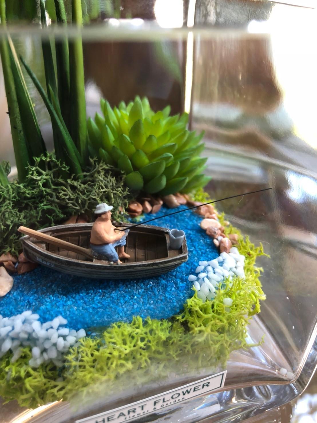 フェイカーズ グラスワールド 釣り人 - FAKER'S GLASS WORLD FISHERS