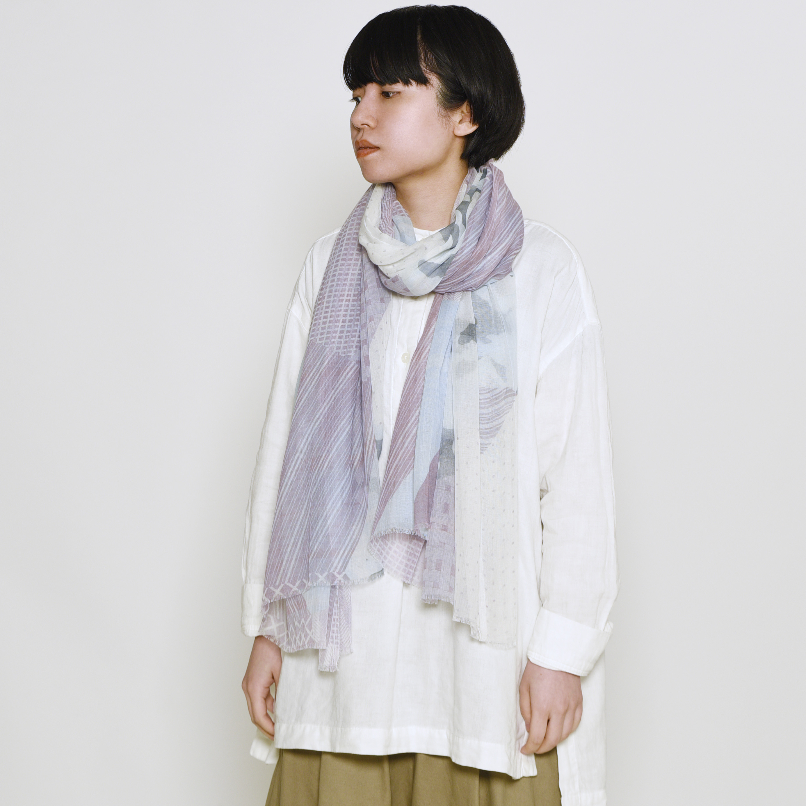COTTON GAUZE ・ SASHIKO - 2color